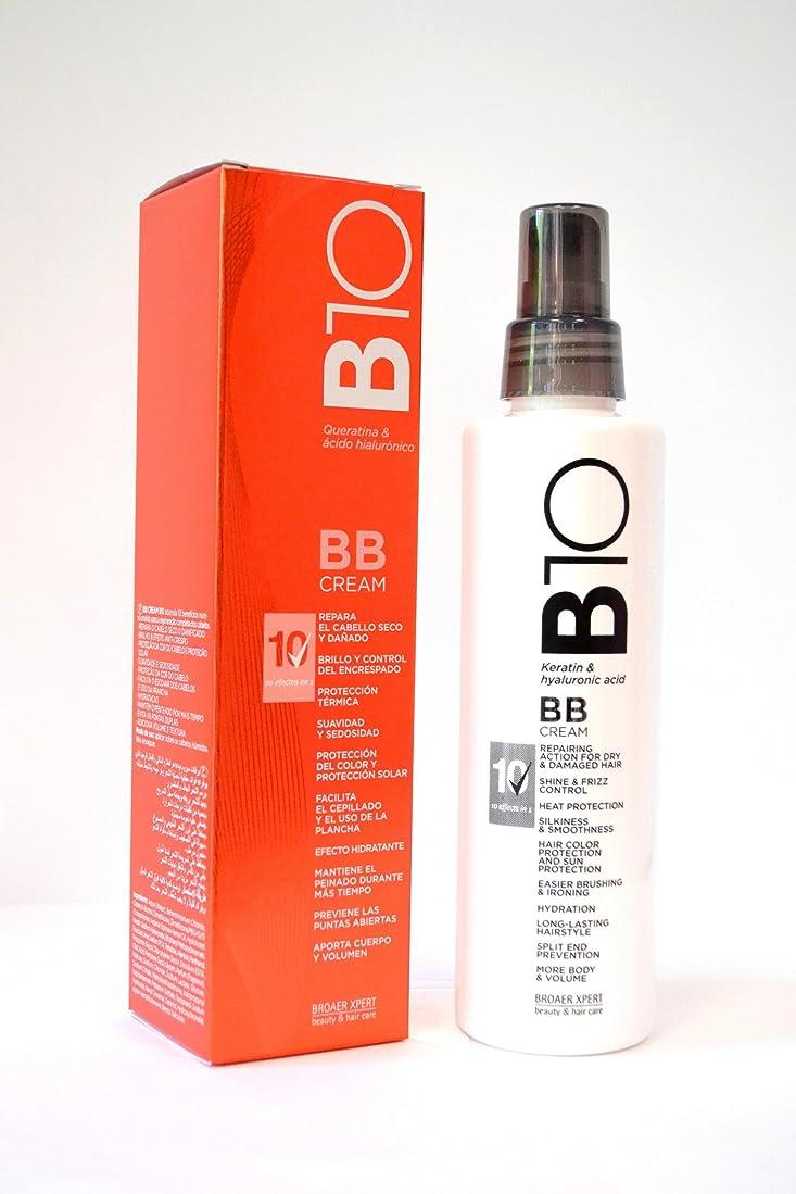 脅威検証中傷Broaer B10 BBクリームケラチン&ヒアルロン酸200 ml。