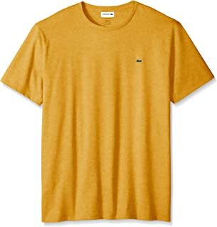 Lacoste Mens Short Sleeve Crew Neck Pima Cotton Jersey T-Shirt