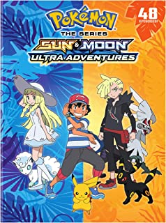 Pokemon The Series : Sun and Moon - Ultra Adventures Complete Collection (DVD)
