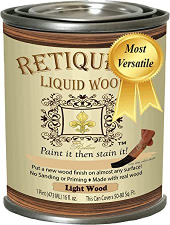 Liquid Wood for Gel Stain & Wood Stain by Retique