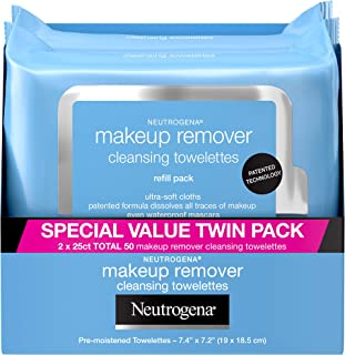 Neutrogena Makeup Removing Wipes، Twin Pack