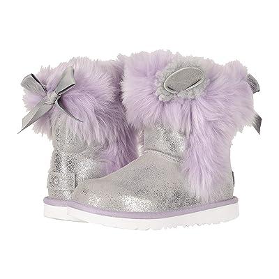 UGG Kids Maizey Classic II (Little Kid/Big Kid) (Silver/Lavender) Girls Shoes