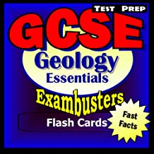 GCSE Geology Test Prep Review--Exambusters Flash Cards: GCSE Exam Study Guide (Exambusters GCSE Book 1)