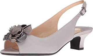 J. Renee Women's Leonelle Low Heel Open Toe Slingback
