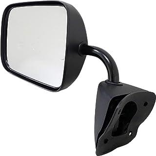 Dorman 955-373 Driver Side Manual Door Mirror - Folding for Select Dodge Models, Black