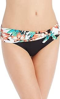 Women's Bikini Bottom Swimsuit with Front Tie Detail