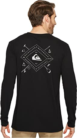 Quiksilver Waterman - Sandhill Peaks Long Sleeve Tech Tee