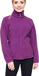 Women's Full-Zip Polar Sport Fall Winter Spring Fleece Jacket