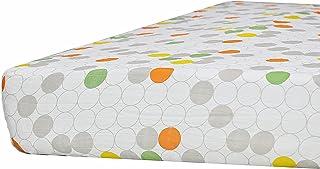 Kadut Kids 100% Muslin Cotton Fitted Crib Sheet Midnight Magic Collection (Single Pack, Modern)