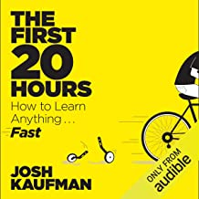 the first 20 hours audible