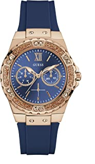 Guess Womens Multi Dial Watch Limelight