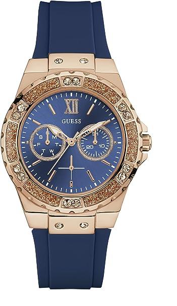 Guess - Reloj de pulsera para mujer con esfera múltiple