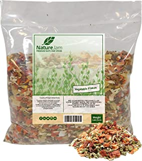 Kosher Vegetable Soup Blend Dried Dehydrated Vegetable Flakes (1 Pound)