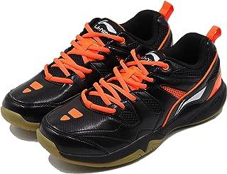 Li-Ning Alpha Badminton Sports Shoes, Black/Orange