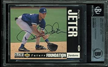 Yankees Derek Jeter Signed 1994 Collector's Choice #644 Auto Card BAS Slabbed - Beckett Authentication