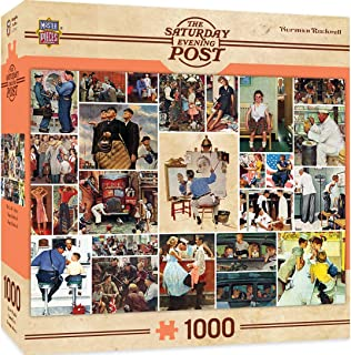 MasterPieces Saturday Evening Post Jigsaw Puzzle, Norman Rockwell Collage, 1000 Pieces