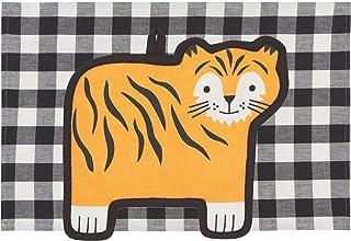 Now Designs 2029006aa Pocket Pals Kitchen Towel and Potholder Set, Tessa Tiger