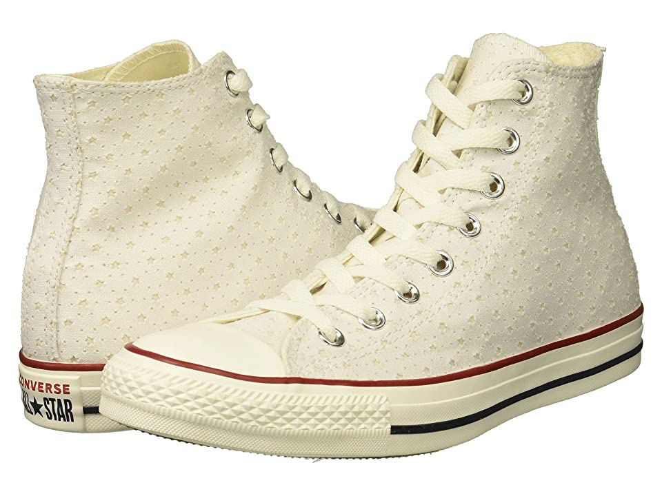 Converse Chuck Taylor(r) All Star(r) Hi Perf Stars (White/Garnet/Athletic Navy) Women