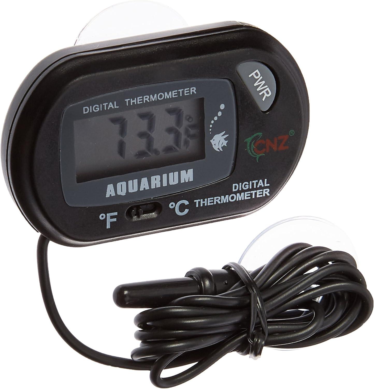 Leegoal Digital Aquarium Terrarium Thermometer Outlet SALE Year-end gift Fish Black Tank