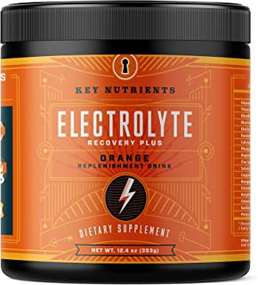 Electrolyte Powder, Orange Hydration Supplement: 90 Servings, Carb, Calorie & Sugar Free, Delicious Keto Replenishment Dri...