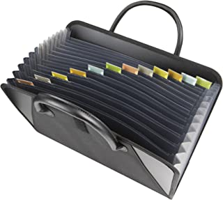 expandable file tote bag