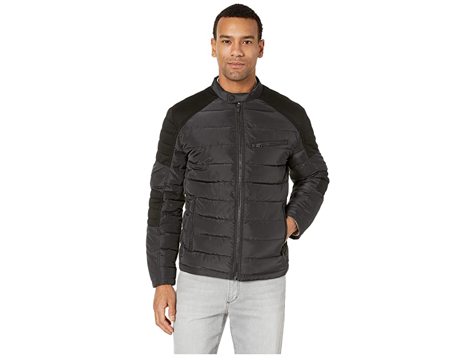 Marc New York by Andrew Marc Packable Moto Jacket (Black) Men