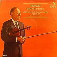 Glazunov: Violin Concerto / Mozart: Symphonie Concertante in E-Flat (K.364) for Violin and Viola