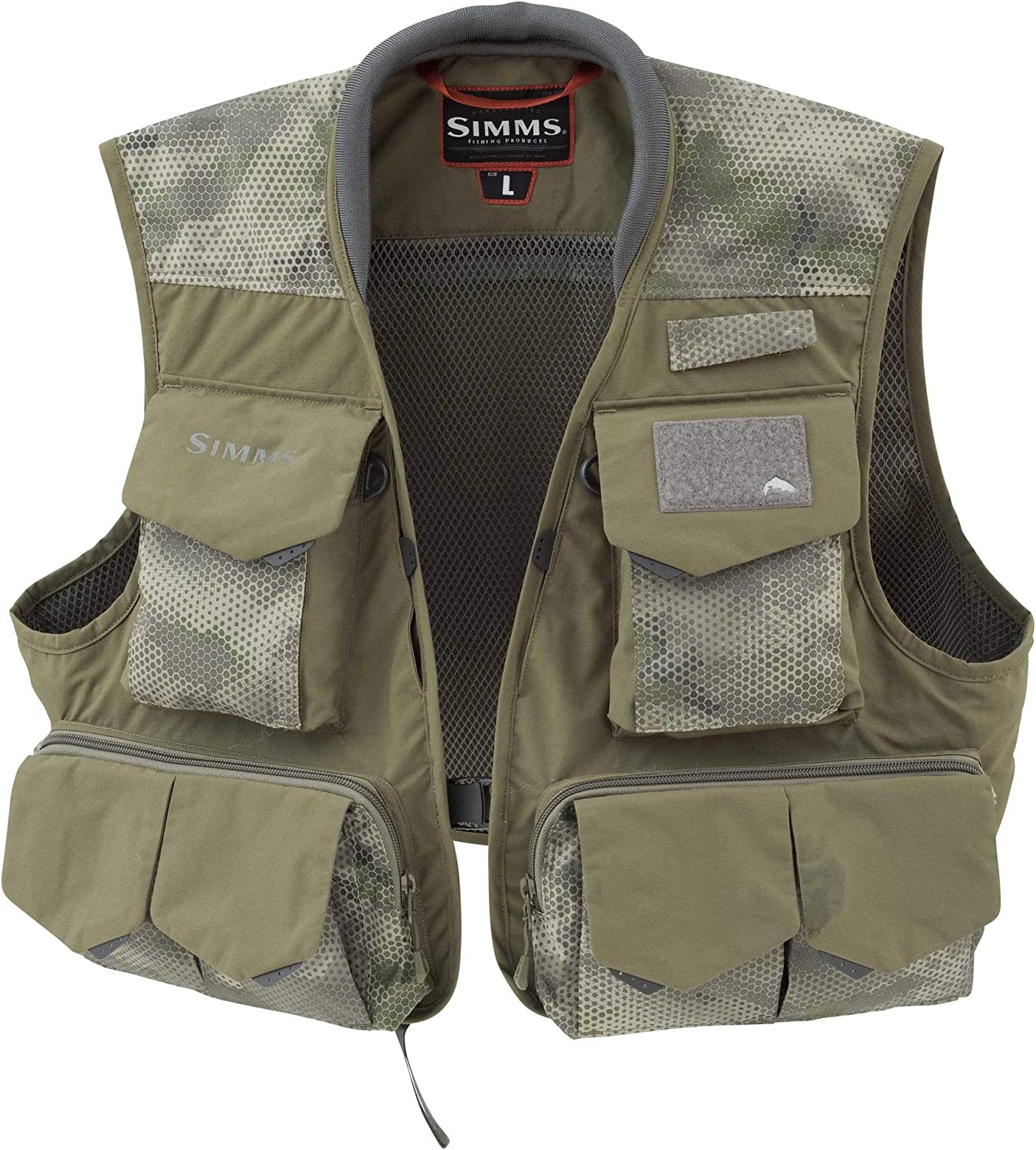 Simms Our shop OFFers the best service Freestone Import Fishing Vest 19 Sleeveless Pocket