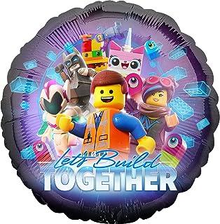 """Lego 002663539041 - Pelota de foil con texto""""Let's"""