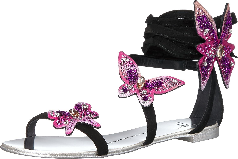 Giuseppe Zanotti kvinnor E70206 Dress Sandal Sandal Sandal  billig grossist