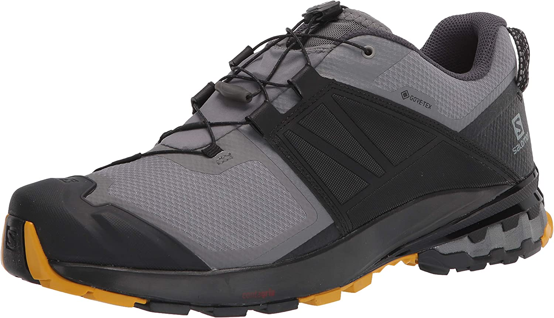 Salomon Men's Ranking TOP9 Over item handling ☆ XA Wild GTX Trail Running Shade Black Quiet Shoe