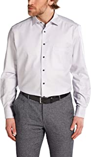 Eterna Long Sleeve Shirt Comfort FIT Twill Structured