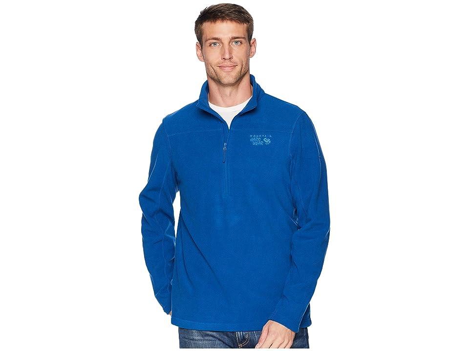 Mountain Hardwear Microchill 2.0 Zip T (Nightfall Blue) Men
