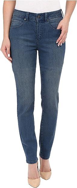 Five-Pocket Addison Skinny Jeans in Bainbridge Blue