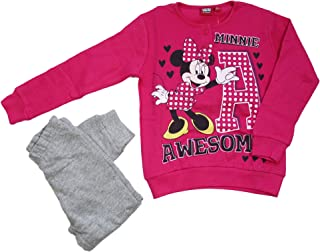 ARNETTA Pigiama Bambina Invernale Felpato Disney Minnie