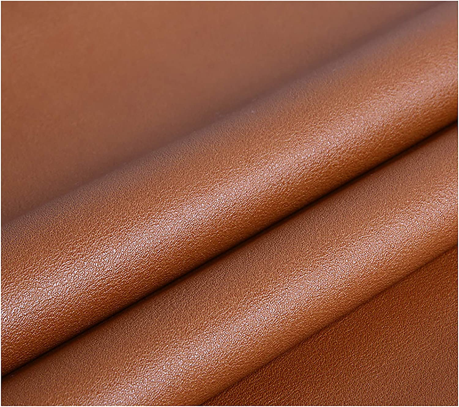 Solid Color Max 81% OFF 1 Translated 2mm Thick Faux Vinyl Leather Fabric Leatherette Le