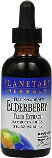 Planetary Herbals Full Spectrum Elderberry Fluid Extract Supplement, 2 Fluid Ounce
