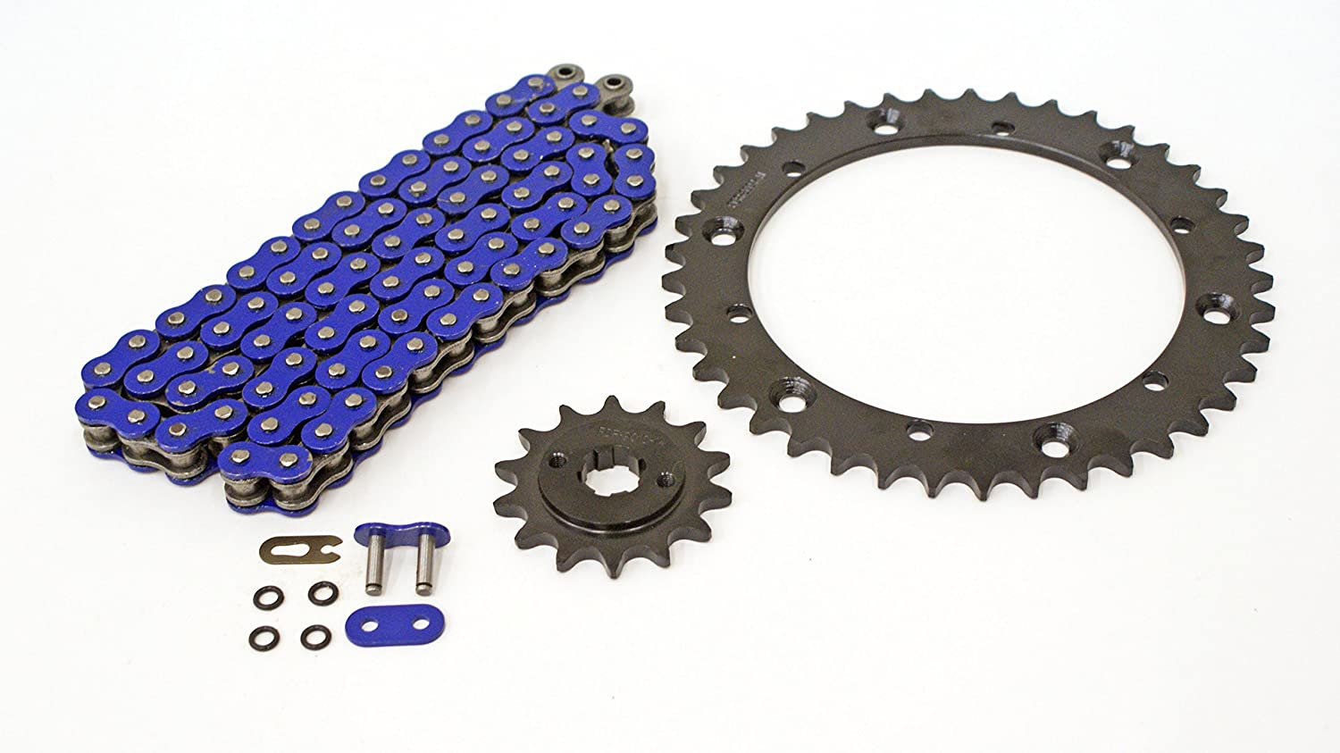 04-2006 fits Yamaha YFS200 200 Dedication O-Ring Chain Blue Sales of SALE items from new works Black Blaster