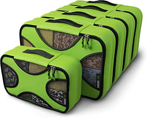 Shacke Pak - 5 Set Packing Cubes - Medium/Small – Luggage Packing Travel Organizers