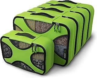 Shacke Pak - 5 Set Packing Cubes - Medium/Small - Luggage Packing Travel Organizers