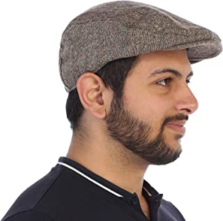 Gioberti Men's Tweed Ivy Cap with Very Soft Lining