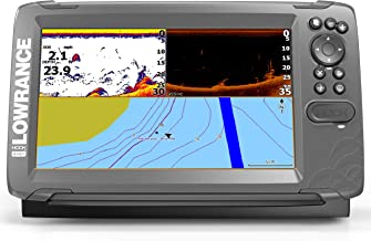 Lowrance HOOK2 9 - 9-inch Fish Finder with SplitShot Transducer and US Inland Lake Maps Installed …