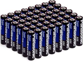 Panasonic Super Heavy Duty, Multi Use, AA Batteries, 12 Packs of 4 Batteries, Total 48 Batteries.