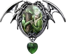 Kindred Spirits Enchanted Cameo Pendant by Anne Stokes