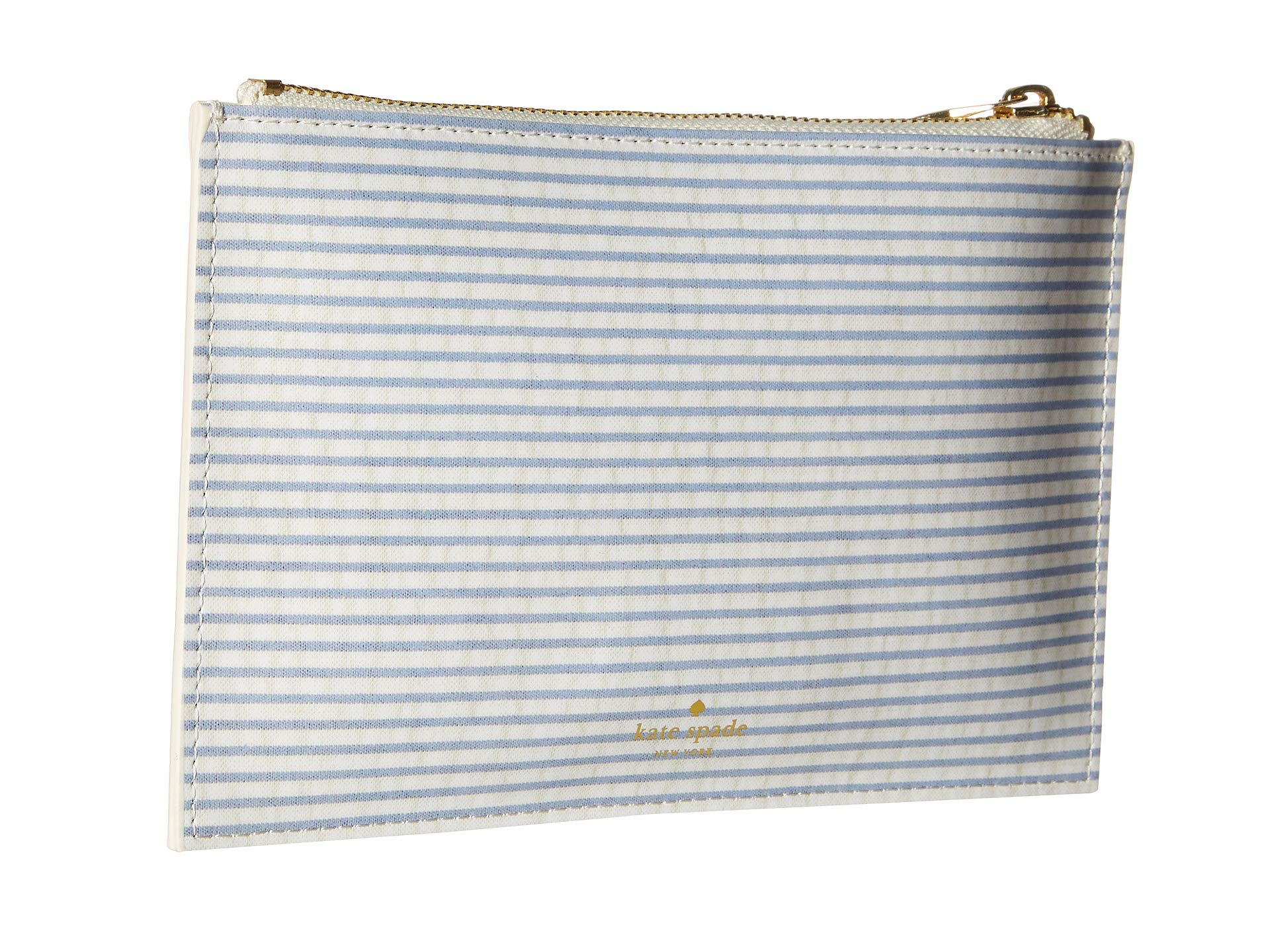 Seersucker York Pencil Pouch Spade New Navy Kate xvwq1RtP