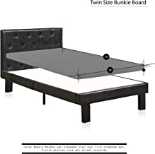 Greaton Assembled 2-Inch Foundation/Bunkie Board Ideal for Bunk Beds, Twin, Size