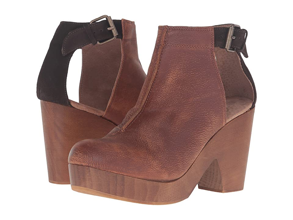 Free People Amber Orchard Clog (Chocolate) Women