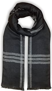 Bleu Nero Luxurious Winter Scarf Premium Cashmere Feel Unique Design Selection