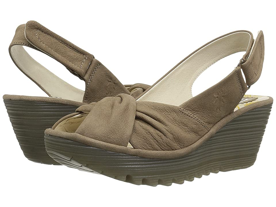 FLY LONDON YATA820FLY (Taupe Cupido) Women