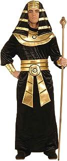 Forum Novelties 60442 Egyptian Pharaoh Costume Adult Sized, Black/Gold, Large